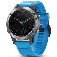 Garmin Watch Quatix 5 Steel Blue Band