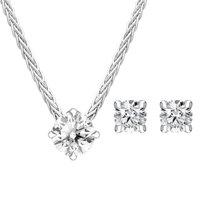 18ct White Gold Diamond Two Piece Gift Set