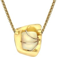 18ct Yellow Gold Opal Unique Necklace