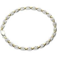 18ct Yellow And White Gold 1.03ct Diamond Bracelet