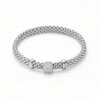 Fope Vendome 18ct White Gold 0.41ct Diamond Bracelet