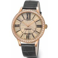 Faberge Watch Lady 18ct Rose Gold Opalescent Enamel Dial