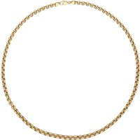 9ct Yellow Gold Belcher Chain Necklace