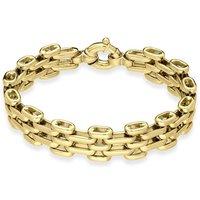 9ct Yellow Gold Chunky Links Handmade Bracelet