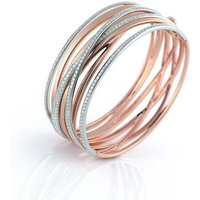 Al Coro Serenata 18ct Rose Gold 2.88ct Diamond Bangle