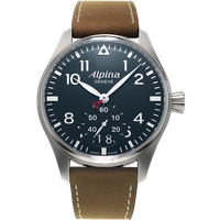 alpine watch startimer pilot big date gents