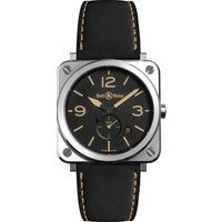 bell and ross watch brs steel heritage