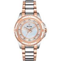 bulova watch ladies diamond