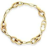 Chimento 18ct Rose Gold Oval Link Bracelet D