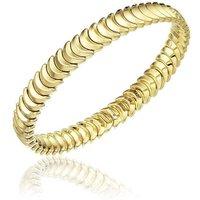 Chimento Armillas 18ct Yellow Gold Crescent Moon Bangle