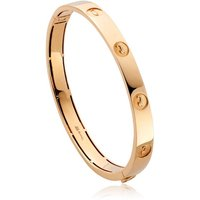 Clogau Tree of Life 1854 18ct Yellow Gold Insignia Bangle