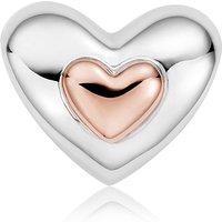 Clogau Milestones Sterling Silver Heart Bead Charm