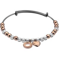 Emozioni Rose Gold and Silver Plated Bracelet