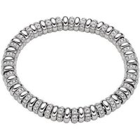 Fope Flexit Solo 18ct White Gold 2.80ct Diamond Bracelet