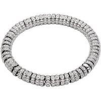 Fope Flexit Solo 18ct White Gold 5.51ct Diamond Bracelet