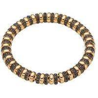 Fope Flexit Solo 18ct Yellow Gold 3.05ct Black Diamond Bracelet