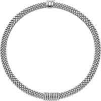 Fope Panorama 18ct White Gold 0.68ct Diamond Rondelle Necklace