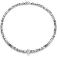 Fope Vendome 18ct White Gold 0.41ct Diamond Necklace