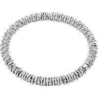Fope FlexIt Prima 18ct White Gold 4.21ct Diamond Bracelet