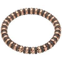 Fope Flexit Solo 18ct Rose Gold 3.05ct Black Diamond Bracelet