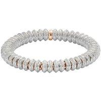 Fope Flexit Solo 18ct Rose Gold 7.29ct Diamond Bracelet