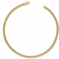 Fope Meridiani 18ct Yellow Gold Rope Necklace