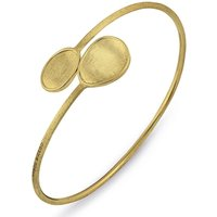 Marco Bicego Lunaria 18ct Yellow Gold Oval Bangle