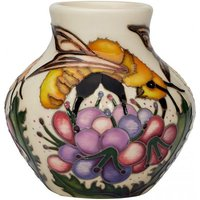 Moorcroft Limited Edition Great Yellow Bee Vase