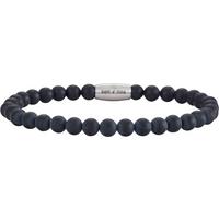 Nordahl Andersen Matt Black Onyx 21cm Bracelet
