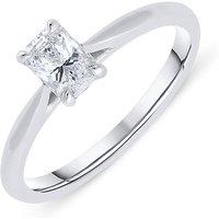 Phoenix Cut Platinum 0.44ct Diamond Solitaire Ring