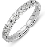 Picchiotti 18ct White Gold 1.88ct Diamond Bangle