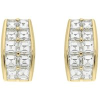 Picchiotti 18ct Yellow Gold 5.02ct Diamond Hoop Earrings