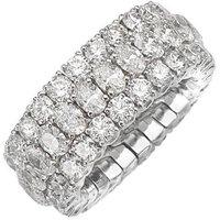Picchiotti Xpandable 18ct White Gold 7.48ct Diamond Eternity Ring