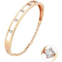 Ponte Vecchio Sirio 18ct Rose Gold Diamond Bangle