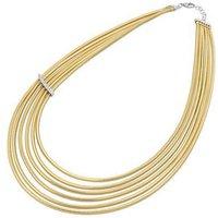 Ponte Vecchio Nobile 18ct Yellow Gold 0.44ct Diamond Multi-Strand Necklace