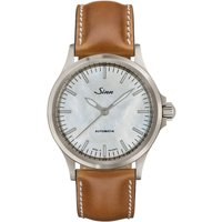 Sinn Watch 556 I Mother Of Pearl W Tan Leather