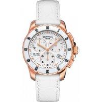 Certina Watch DS First Lady Ceramic Chrono Quartz