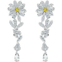 Swarovski Eternal Flower Yellow Pierced Earrings