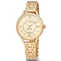 Faberge Watch Lady 18ct Yellow Gold Champagne Dial