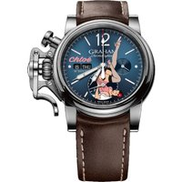 Graham Watch Chronofighter Vintage Nose Art Chloe Limited Edition