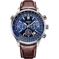 rotary watch pilot mens