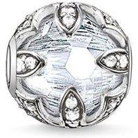 Thomas Sabo Charm Karma Beads Lotus White Silver D