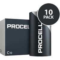 Duracell Industrial Procell   C Batteries   10 Pack
