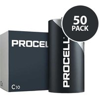 Duracell Industrial Procell   C Batteries   50 Pack