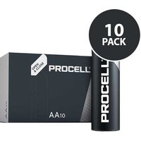 Duracell Industrial Procell   AA Batteries   10 Pack