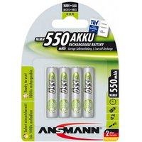 Ansmann MaxE AAA Batteries   Rechargeable   4 Pack