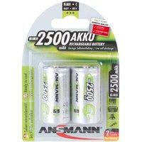 Ansmann MaxE C Batteries   Rechargeable   2 Pack