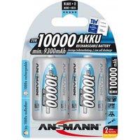 Ansmann D Batteries   Rechargeable   2 Pack