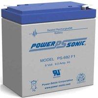 Power Sonic PS682 SLA Battery