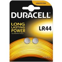 Duracell LR44 Button Cell Batteries   2 Pack